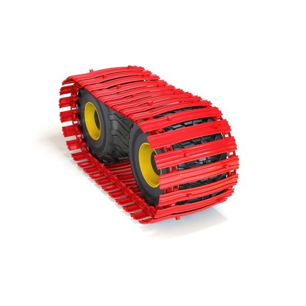 CLARK Band TXL150 -1000 mm, asymmetrische Bodenplatte mit 24 mm Haggis UltraLink -Gebraucht-