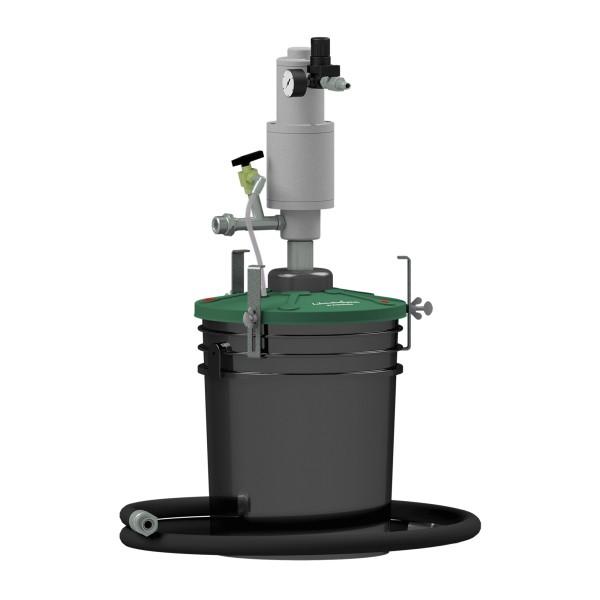Fettfüllgerät für HULTDINS, Druckluftantrieb