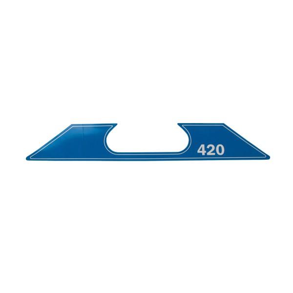 ET SG-2-420 Aufkleber Geräte Nr. 0718560; SN051-0714+; Zeichnung 0718930-02; Stand Rev-08, 01-12