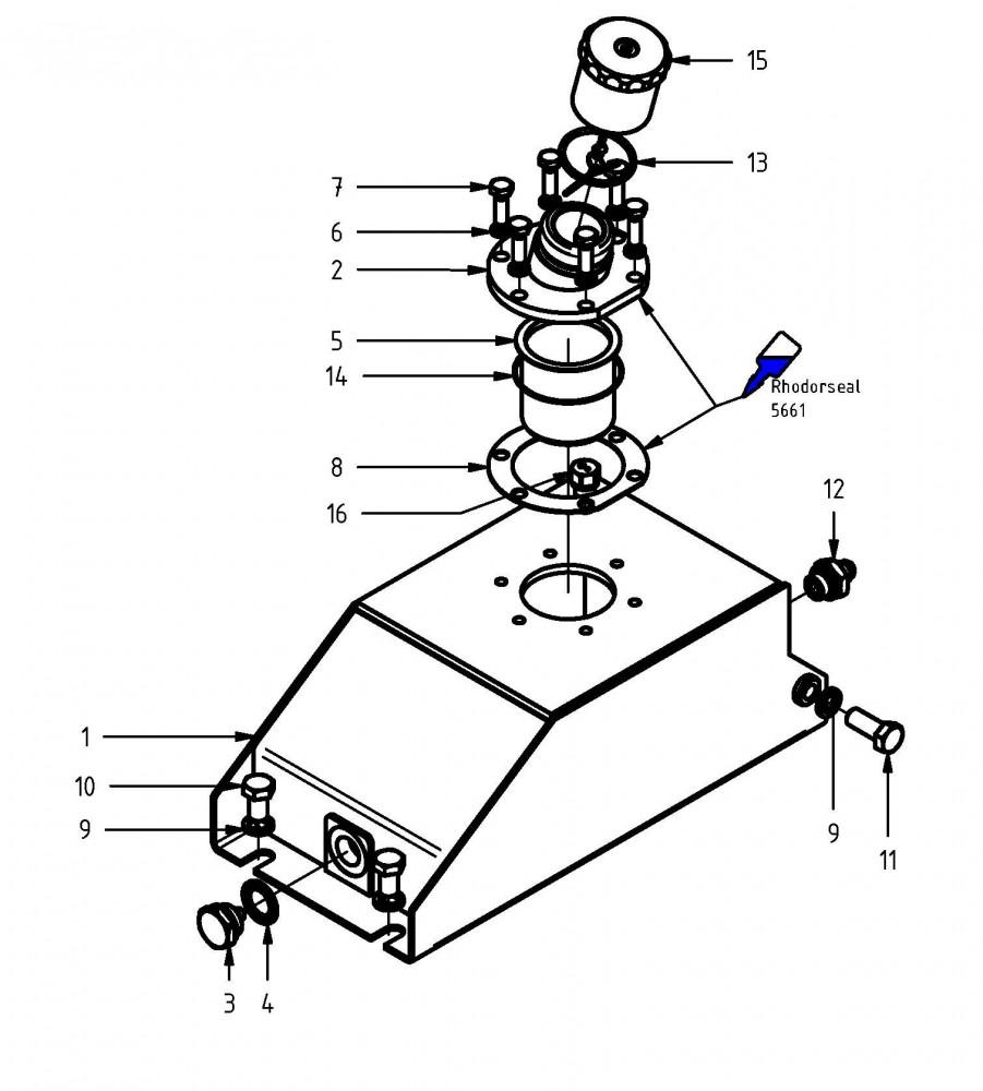 Kettenöl-Tank MKII