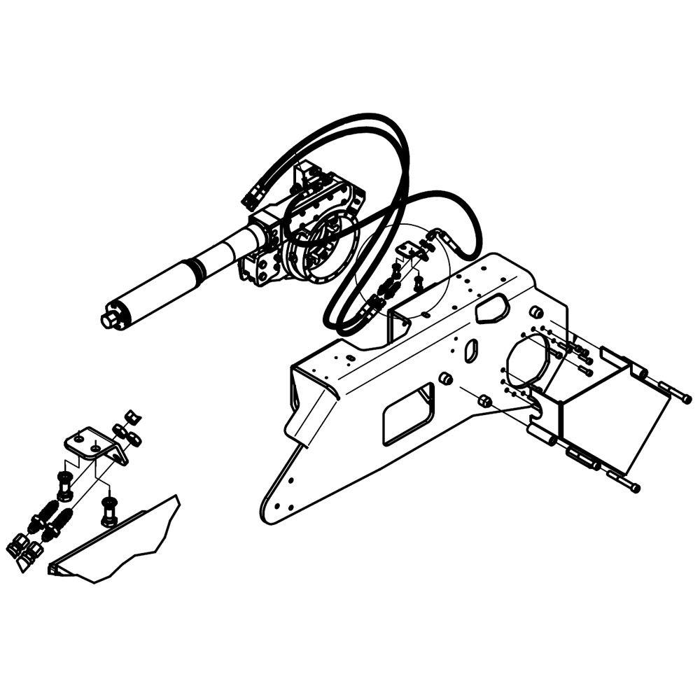 HULTDINS spare parts for grapple saws
