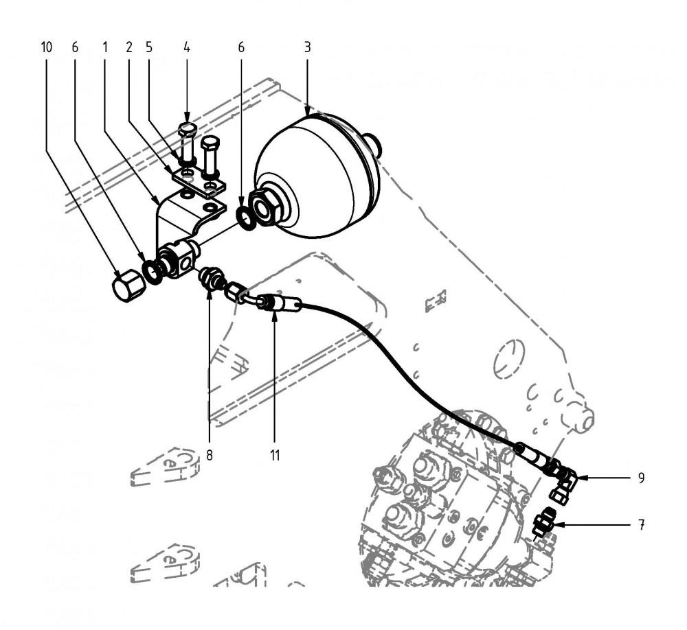 Saw motor drain pipe