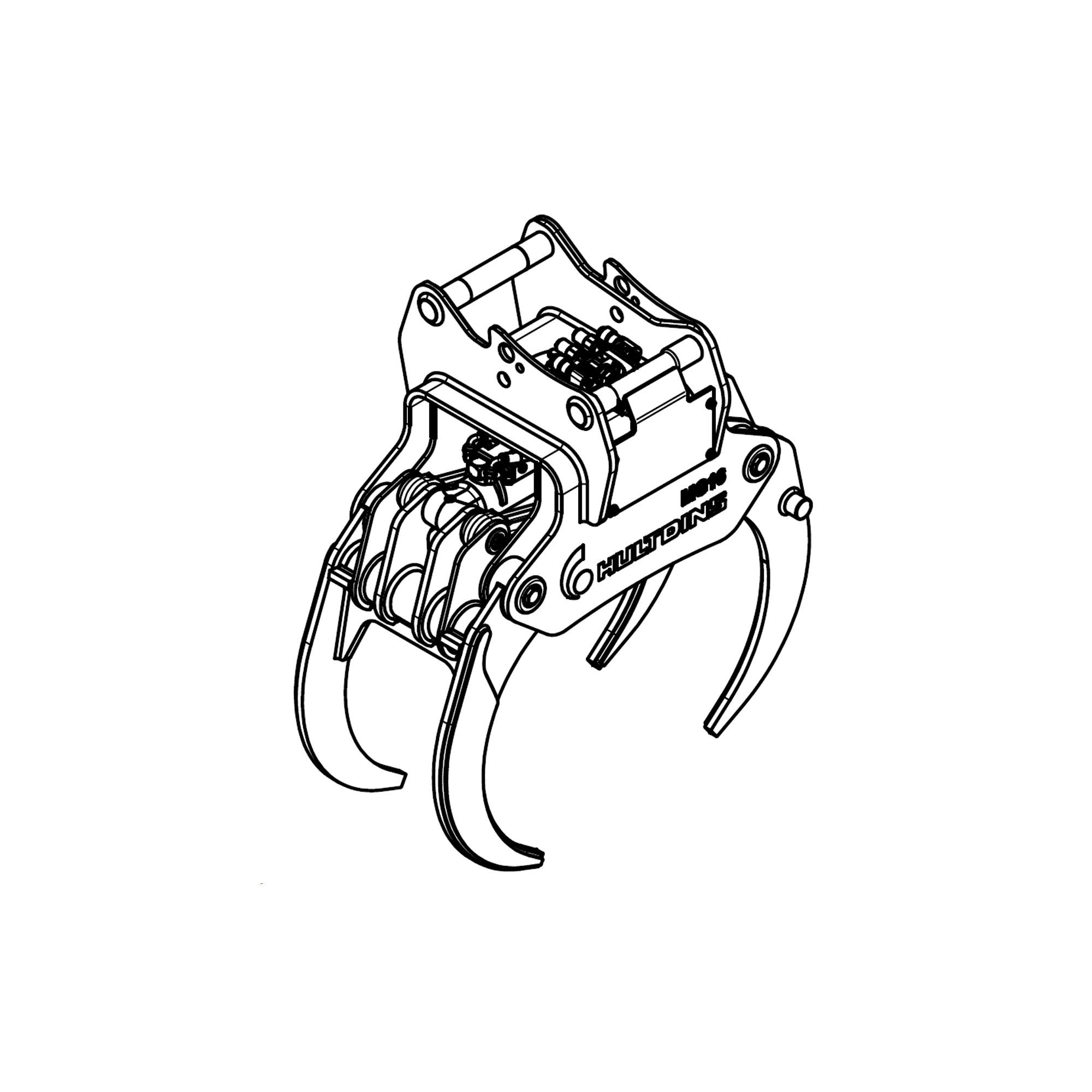 Klešťový chapač MultiGrip R