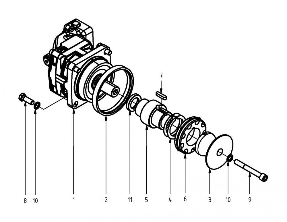 40 cc saw motor