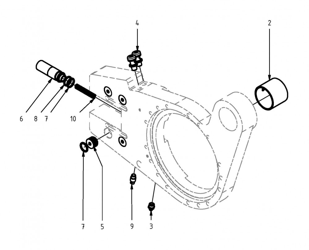 Spare parts clamping device