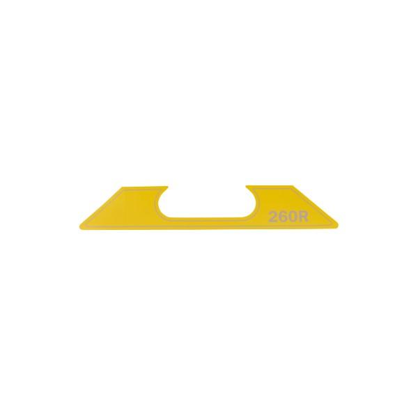 ET SG-2-260-R Aufkleber Geräte Nr. 0711650; SN048-1267+; Zeichnung 0711912-02; Stand Rev-08, 01-13