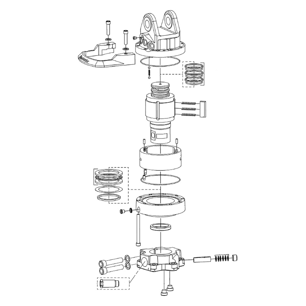 INDEXATOR spare parts for rotators