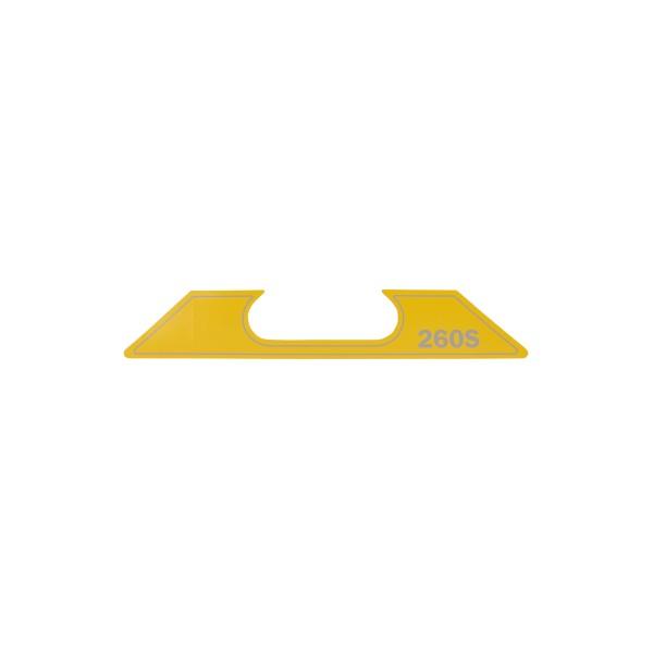 ET SG-2-260-S Aufkleber Geräte Nr. 0711550; SN048-0858+; Zeichnung 0711911-02; Stand Rev-08, 01-12