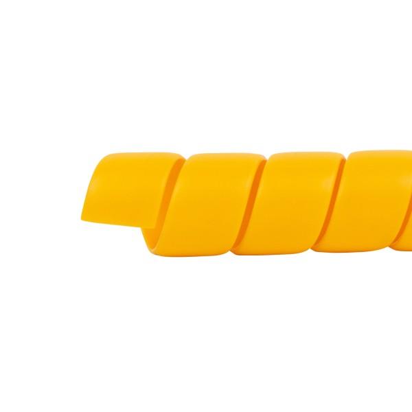 HAVEL Schlauchschutz-Spirale Durchmesser 110 mm, Länge 6 m, gelb
