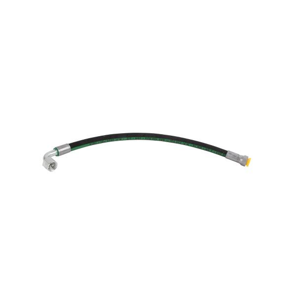 """ET SS-550-EC-10-90 Hydraulikschlauch 1/2"""", OAL=450 mm Geräte Nr. 0742020; SN031-2050+; Zeichnung 0742041-P02; Stand Rev-P00. 01-19"""
