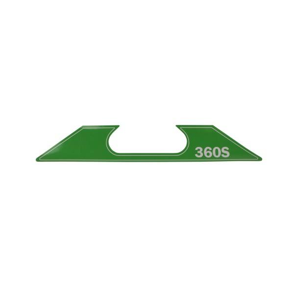 ET SG-2-360-S Aufkleber Geräte Nr. 0718590; SN050-0761+; Zeichnung 0718911-02; Stand Rev-09, 01-12
