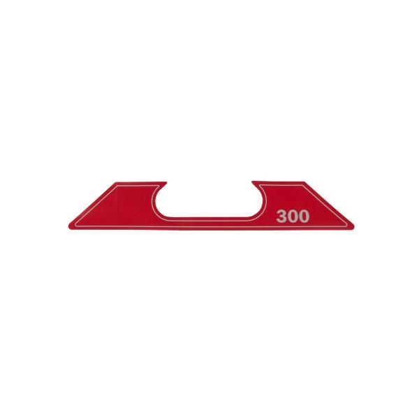 ET SG-2-300 Aufkleber Geräte Nr. 0711580; SN049-0562+; Zeichnung 0711920-02; Stand Rev-08, 01-12