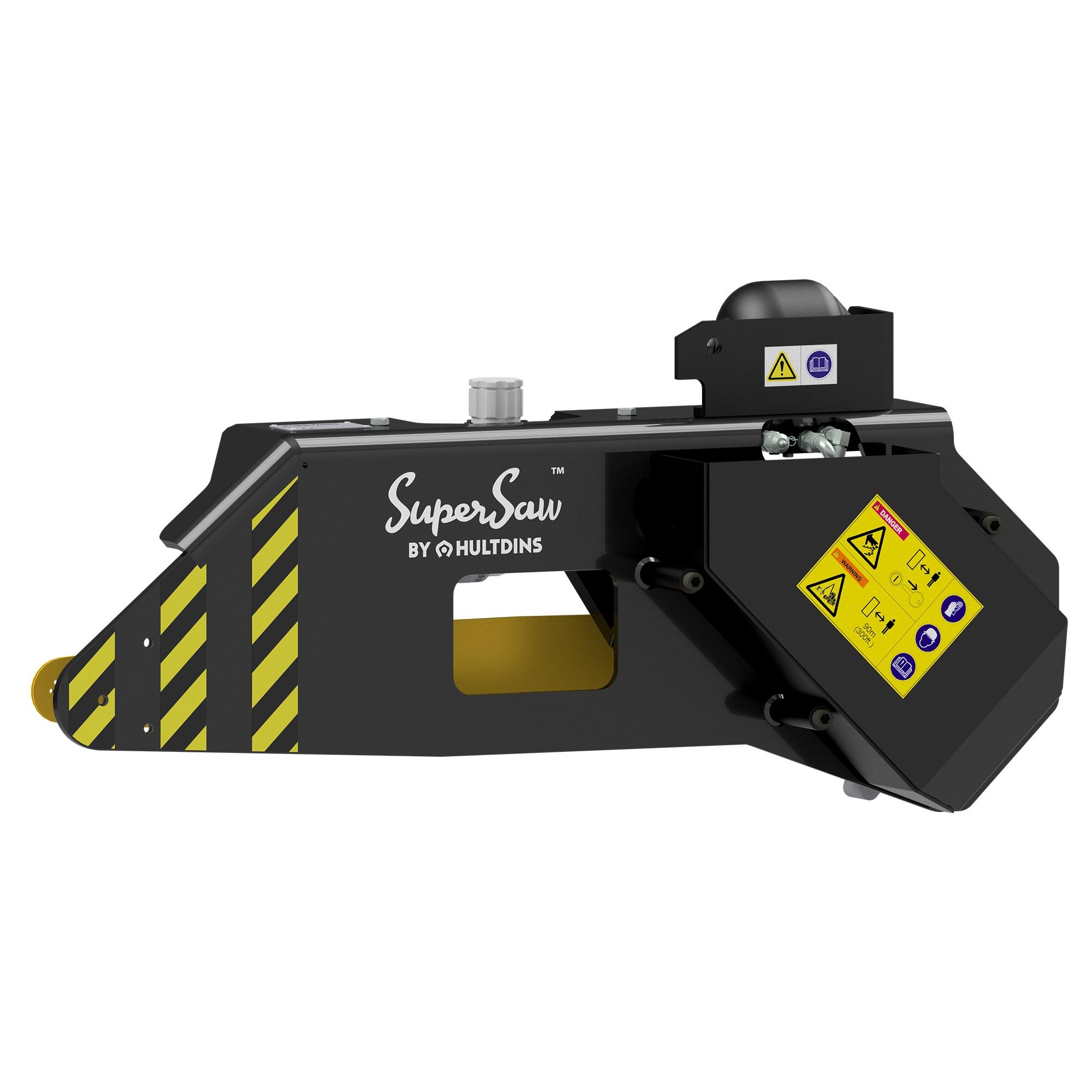 Komponenty SuperSaw 550 pro kácení drapáků